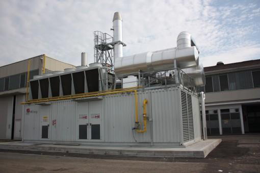 L'impianto Ecomax 27 di AB Energy, installato presso le Cartiere Saci.