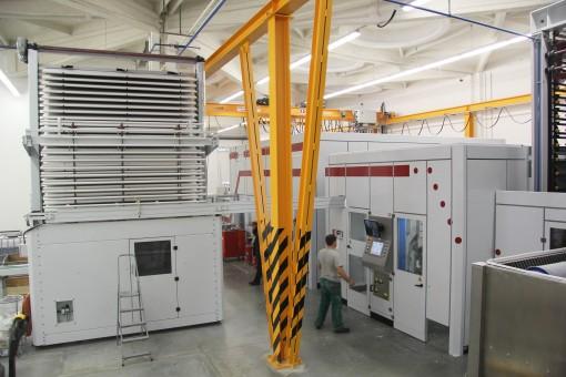 La nuova linea Tissue converting di Futura avviata alla Forest Papir.