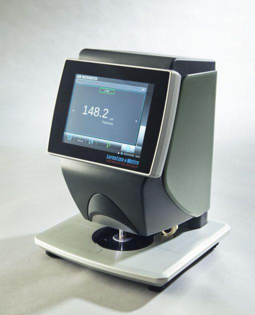 L&W Micrometer per la misurazione del spessore del foglio singolo o della mazzetta.