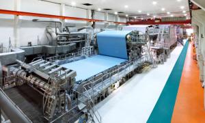 La PM2 installata presso lo stabilimento di Alfeld.
