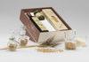 Il packaging realizzato in Cartacrusca, la prima carta nata dalla crusca non più utilizzabile per il consumo alimentare, studiata da Favini per l'azienda simbolo dell'Italia nel mondo.