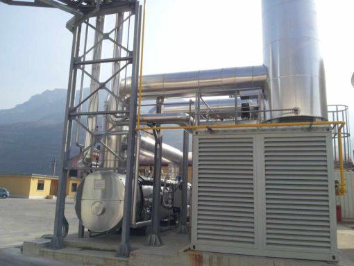 Il sito produttivo di Brentino Belluno (Vr) di Cartiera Cooperativa di Rivalta si dota di un impianto di cogenerazione AB che produce energia elettrica e termica per la cartiera, contribuendo inoltre a diminuire le emissioni di anidride carbonica nell'atmosfera.