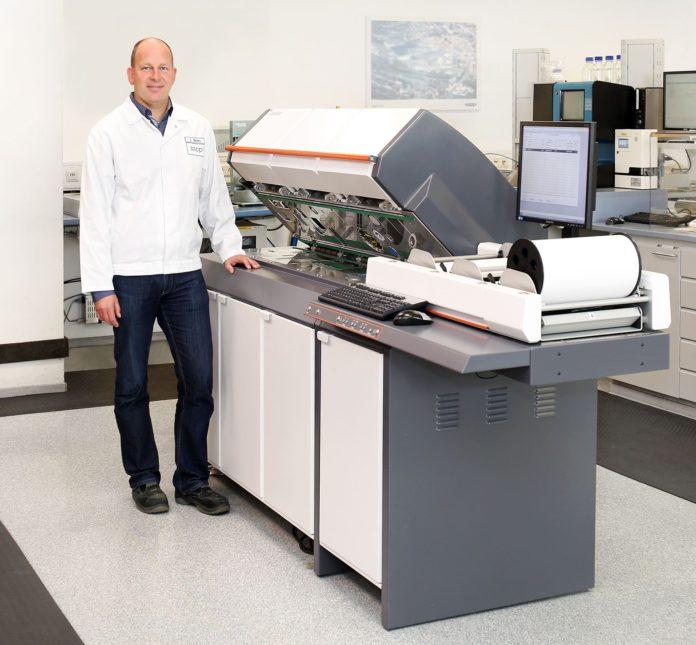 Kristof Mertens, Manager Quality Control, Sappi Alfeld GmbH.
