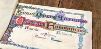 """Album dei """"Segni delle Antiche Cartiere Fabrianesi""""."""