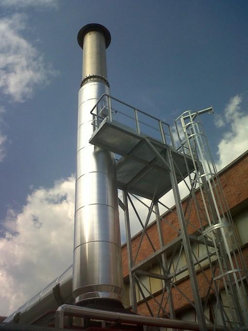 Impianto di cogenerazione per l'industria cartaria realizzato da Intergen.