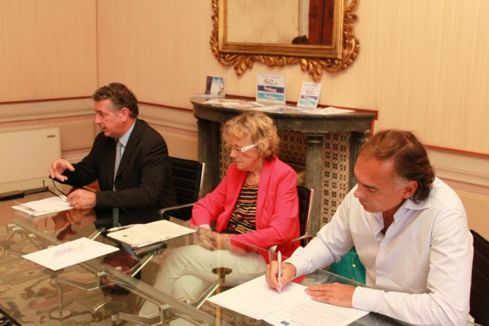 Da sinistra Claudio Romiti, Maura Cavallaro e Fabio Iraldo alla presentazione di Prefer.