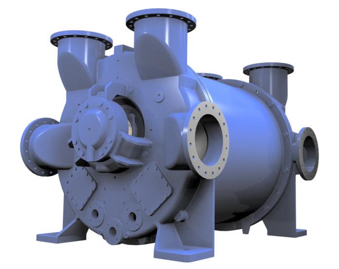 Vuoto fino a 100 mbar abs ed efficienza notevolmente superiore: la nuova NASH 2BE5 è una pompa adattabile per un ampio spettro di applicazioni ed elevate portate di gas.