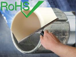 Un esempio dei numerosi materiali iglidur conformi alla direttiva RoHS è rappresentato da iglidur G, un materiale universale, versatile ed economico.